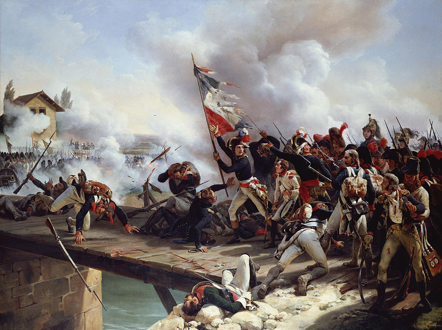 the-battle-of-pont-darcole-emile-jean-horace-vernet