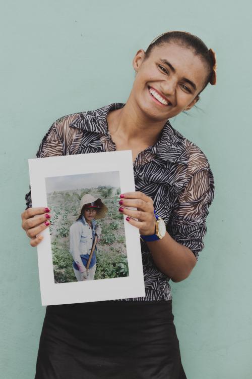 A foto da Adriana é a preferida
