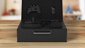 O kit completo do Oculus Rift